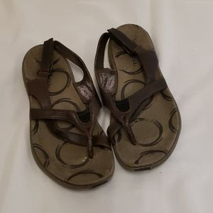 Merrell Savannah Brown Performance Sandals Sz 6